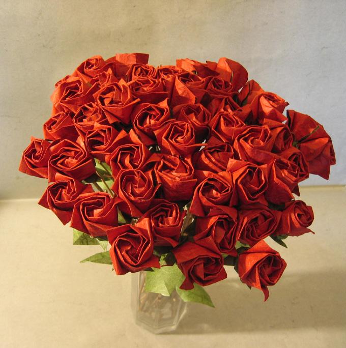 Просмотрено. звездочки удачи. бумажная роза.  1455 раз(а). оригами роза.  Нашла несколько интересных поделок из...