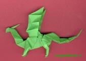 птичка оригами. оригами жаба схема.